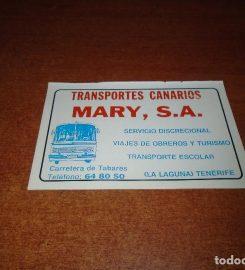 Transportes Canarios Mary