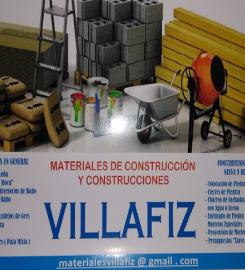 Materiales de construcción VillaFiz